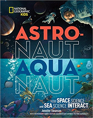 Junior Library Guild Gold Standard Award Astronauts Aquanauts